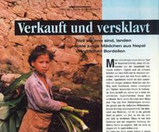 Mädchenhandel im Himalaya (Frau im Leben, 7/96)