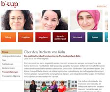Über den Dächer von Köln – Ein multikulturelles Fotoshooting  (www.bikup.de, 6/11)